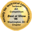 STC WDCB 1996 Technical Art Competition Best of Show Emblem