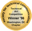 STC WDCB 1996 Technical Art Competition winner's emblem