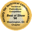STC WDCB Technical Publications Competition Best of Show Emblem