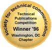 STC WDCB Technical Publications Competition winner's emblem